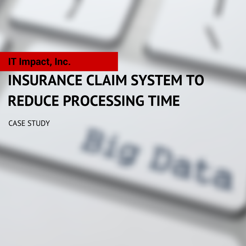Insurance Claim System To Reduce Processing Time