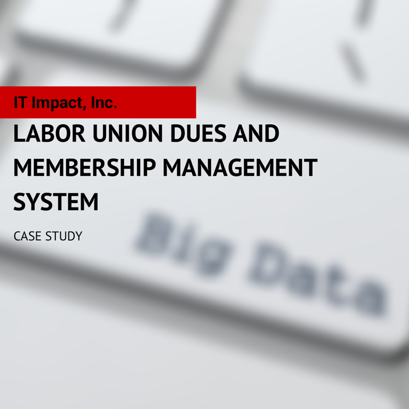 Union Dues and Membership Management System